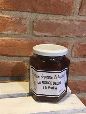 Confiture de Pommes Rouge Délice à la Vanille