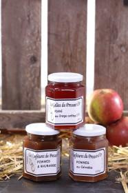Confiture de Pommes et Rhubarbe