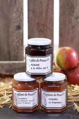 Confiture de pommes Beurre-Caramel aux 4 épices