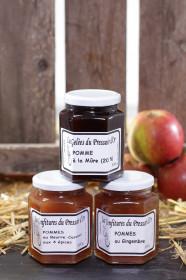 Confiture de Pommes au Gingembre