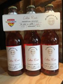 Cidre Rosé 3 x 33 cl